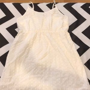 Off white summer dress.